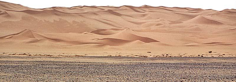 ecletticae - libia. i tesori del deserto - Porta Di Sicurezza Con La Scena Del Deserto